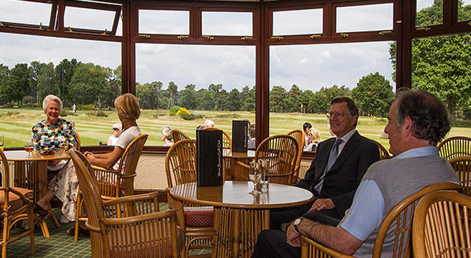 West Sussex Golf Club - Conservatory
