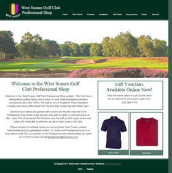 Proshop Home page